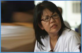 Chị NGUYỄN THỊ ANH HOA (JENNY NGUYEN)  GĐ Cty Phân Phối Hàng Lưu Niệm và Quà Tặng THANH THẢO